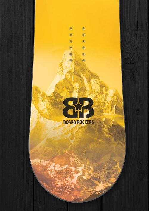Space Mountain Snowboard skin