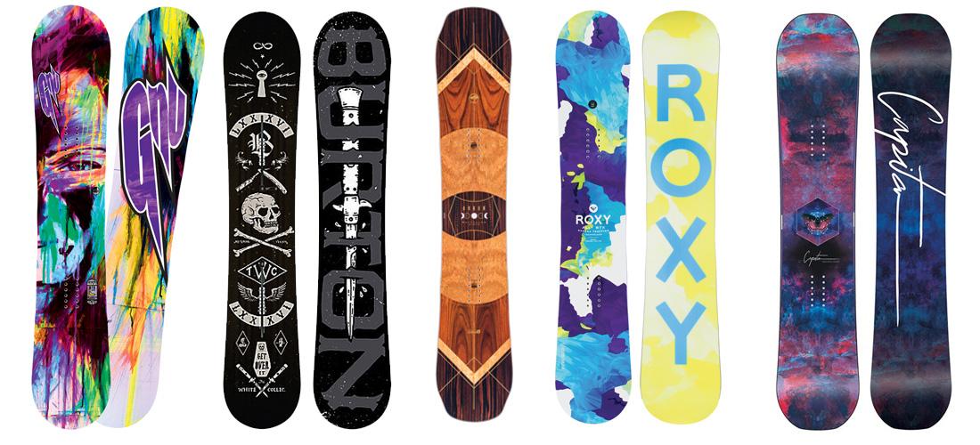 Best snowboards designs