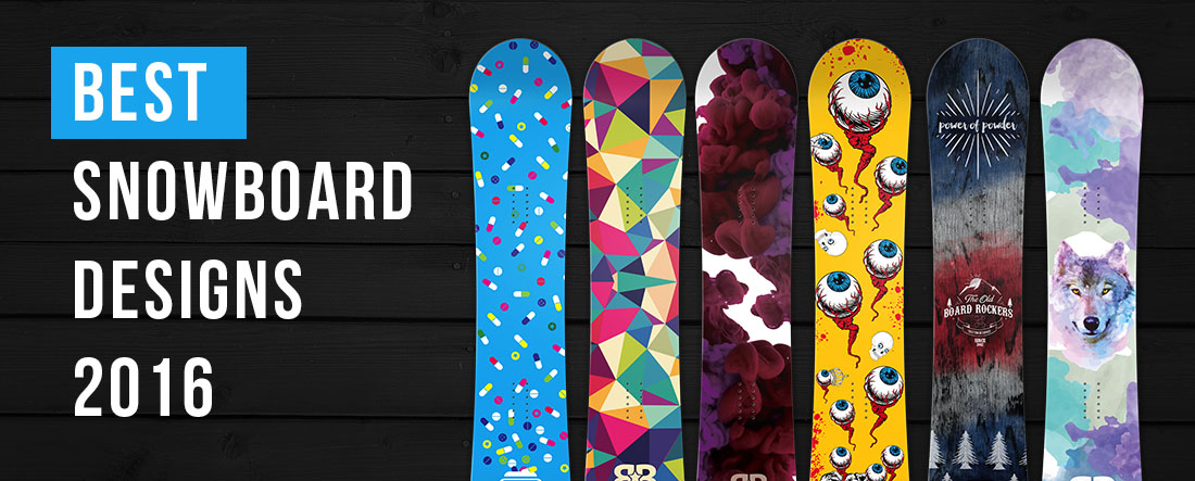 best snowboard designs 2016