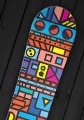Board Rockers - Memphis - Snowboard Wrap