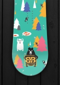 Board Rockers - Bear Wars - Snowboard Wrap