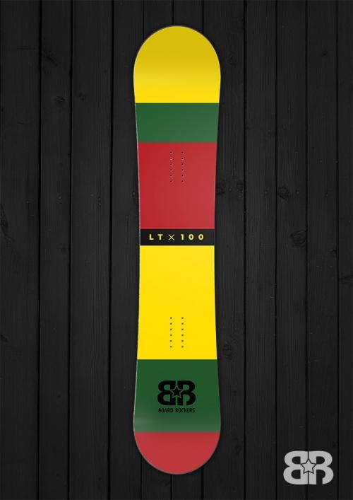 ltx100 snowboard wrap
