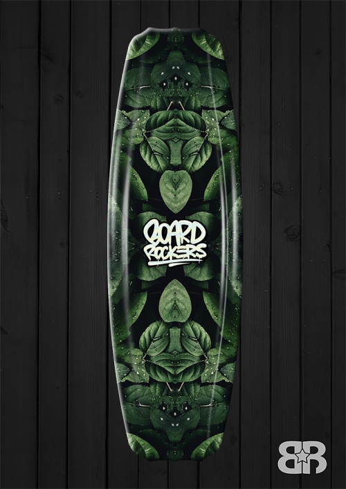 Natural kaleidoscope - wakeboard / kiteboard wrap